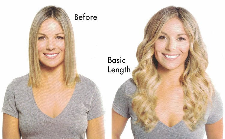 Tape In Hair Extensions - Basic Length